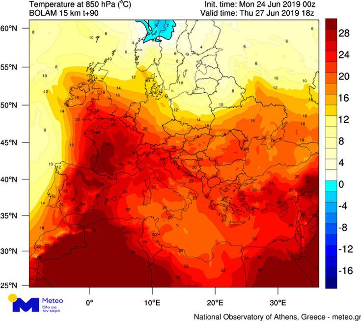Οι χώρες που θα επηρεαστούν από τον καύσωνα στην Ευρώπη και η περίπτωση της Ελλάδας – Newsbeast