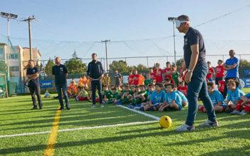 Γκολ από τις Αθλητικές Ακαδημίες ΟΠΑΠ στο τουρνουά αθλητικών αξιών