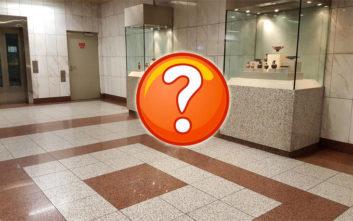 Κάτι που δεν πίστευες ότι θα συναντήσεις σε σταθμό του μετρό