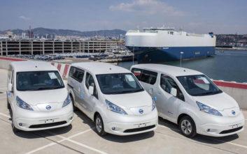 Σαρώνει το ηλεκτροκίνητο Nissan e-NV200 van