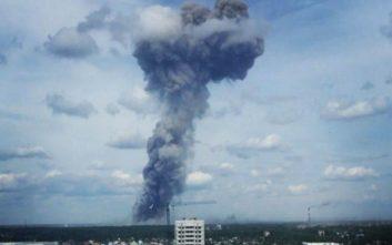 Ισχυρή έκρηξη σε γραμμή παραγωγής ΤΝΤ στη Ρωσία