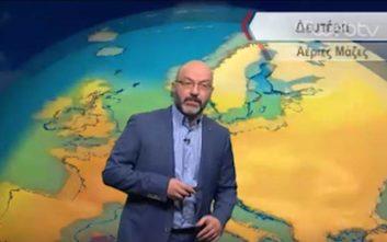 Καιρός: Ο Σάκης Αρναούτογλου προειδοποιεί για κύμα καύσωνα