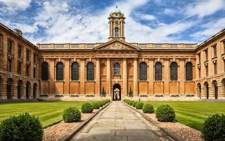 Δωρεά ρεκόρ στο πανεπιστήμιο της Οξφόρδης