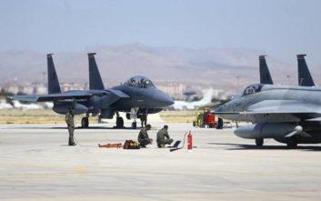 Οι ΗΠΑ έκοψαν τα... φτερά των Τούρκων στην άσκηση «Αετός της Ανατολίας»