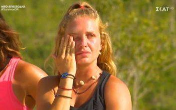 Survivor 3: «Λύγισε» η σκληρή Κατερίνα Δαλάκα και ξέσπασε σε κλάματα