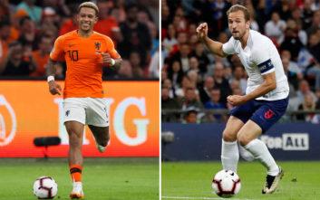 Nations League: «Οράνιε» και «τρία λιοντάρια» σ' ένα μεγάλο ημιτελικό