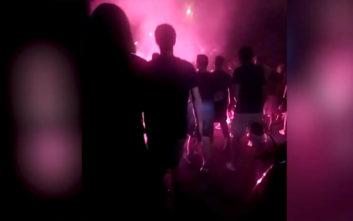 Ιταλία: Ναζιστικό πάρτι ανόδου από τους οπαδούς της Ελλάς Βερόνα