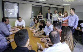 Χαρίτσης: Η κυβέρνηση ΣΥΡΙΖΑ επανέφερε το θεσμό της Δημοτικής Αστυνομίας