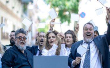 «Εκκλησιάζουσες - Η λαϊκή οπερέτα» από Λυρική και Θέατρο Τέχνης στο Ηρώδειο