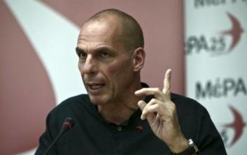 Βαρουφάκης: Οι κυβερνήσεις φεύγουν και τα μνημόνια μένουν
