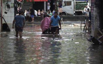 Τουλάχιστον 8 νεκροί από κατακλυσμιαίες βροχές στη Βραζιλία
