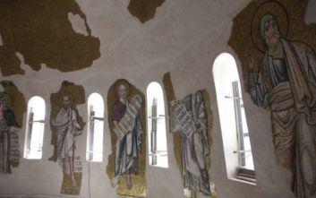 Κλειστή σήμερα η Μονή Δαφνίου, ζημιές από τον ισχυρό σεισμό στην Αττική