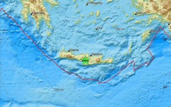 Ισχυρός σεισμός τώρα στην Κρήτη