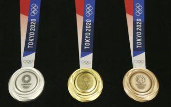 Τα μετάλλια των Ολυμπιακών Αγώνων Τόκυο 2020 είναι φτιαγμένα από ανακυκλώσιμα υλικά