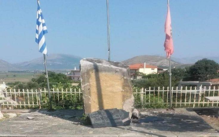 Ανατίναξαν το μνημείο του Θύμιου Λιώλη στην Αλβανία, αντιδρά έντονα η Ελλάδα