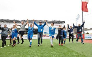 Η Εθνική Αστέγων βάζει και φέτος «γκολ στη φτώχεια»