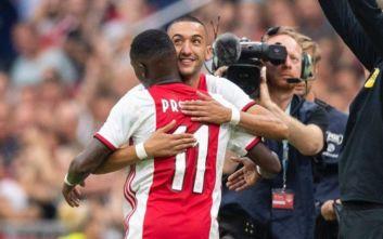 Στον Άγιαξ ο πρώτος τίτλος στην Ολλανδία για τη νέα σεζόν