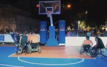 «Midnight 3on3 Streetball» από ΟΣΕΚΑ και ΟΠΑΠ στο Μοναστηράκι