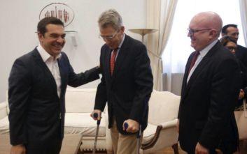 Συνάντηση Αλέξη Τσίπρα με τον υφυπουργό Εξωτερικών των ΗΠΑ