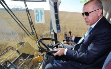Ο Ερντογάν είναι πλέον και... αγρότης
