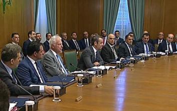 Η ιδιαιτερότητα του πρώτου υπουργικού συμβουλίου