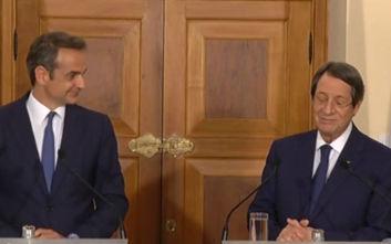 Κυριάκος Μητσοτάκης: Δεν νοείται λύση του Κυπριακού χωρίς την αποχώρηση των τουρκικών στρατευμάτων