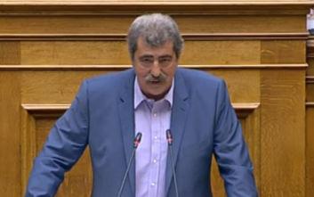 Ολοκληρώθηκε η συζήτηση στη Βουλή για την άρση ασυλίας του Πολάκη