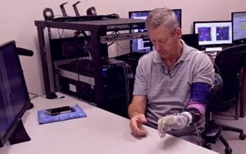Χέρι-ρομπότ δίνει ξανά στον χρήστη την αίσθηση της αφής