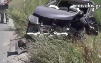 Βέροια: Ένας νεκρός και δυο τραυματίες από σύγκρουση τριών αυτοκινήτων