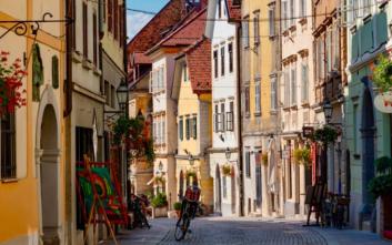 Η Λιουμπλιάνα στις είκοσι πιο φιλικές πόλεις για ποδήλατα στον κόσμο