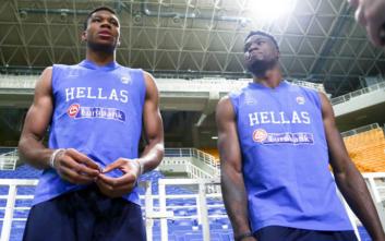 Εθνική Ελλάδας μπάσκετ: Τρία αδέλφια Αντετοκούνμπο στην προετοιμασία