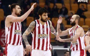 Συμφωνία για λύση παραμονής του Ολυμπιακού στην Basket League μεταξύ Αυγενάκη και Βασιλακόπουλου
