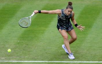 Πρόκριση για τη Μαρία Σάκκαρη στον 2ο γύρο του Wimbledon