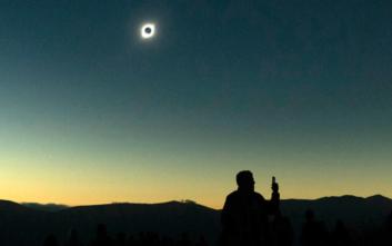 Εκπληκτικές εικόνες από την έκλειψη ηλίου στη Χιλή