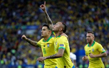 Κόπα Αμέρικα: Θριαμβεύτρια η Βραζιλία μέσα στο «σπίτι» της, 3-1 το Περού