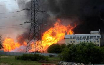 Ρωσία: Νεκρός και 13 τραυματίες από τη φωτιά σε θερμοηλεκτρικό σταθμό