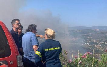 Μπακογιάννης για φωτιά στην Εύβοια: Πάνω από όλα είναι η ανθρώπινη ζωή