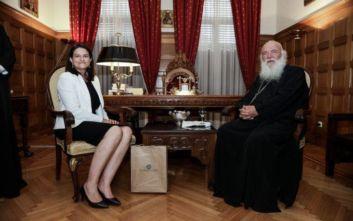 Η σχέση Εκκλησίας - Κράτους στο επίκεντρο της συνάντησης Κεραμέως - Ιερώνυμου