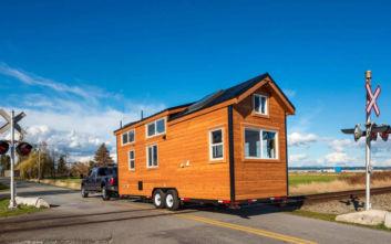 Ένα μικροσκοπικό σπίτι για να πάρετε μαζί στις διακοπές σας