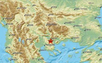 Σεισμός τώρα κοντά στις Σέρρες