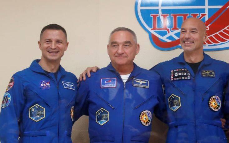 Το Soyuz MC-13 τιμά τα 50 χρόνια της αποστολής Apollo 11
