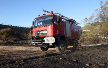 Φθιώτιδα: Υπό μερικό έλεγχο η φωτιά κοντά στη Μονή της Αγίας Άννας