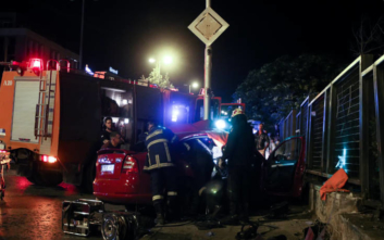 Τροχαίο ατύχημα με τρεις τραυματίες στο Μαρούσι