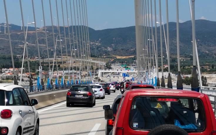 Αυξημένη κίνηση και στη γέφυρα Ρίου – Αντίρριου – Newsbeast