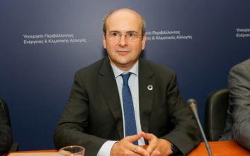 Χατζηδάκης: Να γίνει το υπουργείο Περιβάλλοντος και Ενέργειας κόμβος καινοτομίας