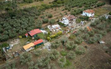 Εκτεταμένες καταστροφές στις καλλιέργειες από τη σφοδρή κακοκαιρία στη Χαλκιδική