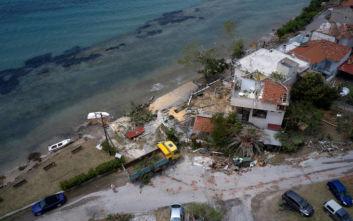 Χαλκιδική: Η δορυφορική «ακτινογραφία» της υπερκυτταρρικής καταιγίδας που έπληξε την περιοχή
