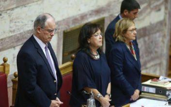 Ενός λεπτού σιγή στη Βουλή για τη μνήμη των νεκρών στο Μάτι