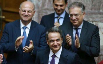 Κυριάκος Μητσοτάκης: Η κυβέρνηση έλαβε την δεδηλωμένη της βουλής, αύριο ξεκινάμε σκληρή δουλειά