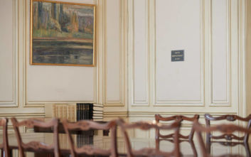 «Δημήτρης Στεφάνου» ονομάστηκε η κεντρική αίθουσα συνεδριάσεων του υπουργικού συμβουλίου στο Μαξίμου